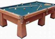 Fabricamos mesas de billa con los mejores materiales importados y nacionales