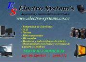 reparacion de equipos de sonido a domicilio