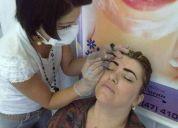 Micropigmentacion profesional - delineados permanentes en cejas,parpados,labios