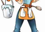Se ofrece personal para limpiezas de hogar por horas, oficina, bancos,industrias, instituc