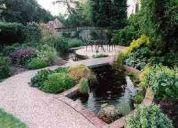 Diseñamos jardines en domicilios, edificios y empresas