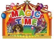 Magic time -alquiler de saltarines, carritos de todo tipo, personajes y mas