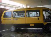 Alquilo furgoneta nueva 2012 con chofer profesional