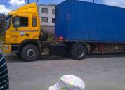 Transporte pesado para contenedores y varios