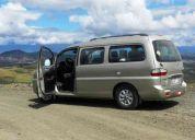 Alquilo furgoneta para viajes turístico o familiares