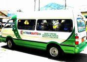 Se ofrece servicio de transporte