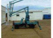 Elevadores de personal / manlift / canastillas / plataformas aereas