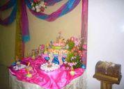 Eventos: bodas, 15 años, bautizos, cumpleaños, primera comunión