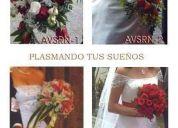 Ramos de novia, y decoracion de iglesias