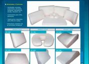 Memory foam! almohadas y aplicaciones anatomicas ortopedicas
