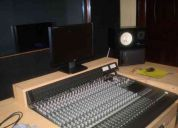 Estudio de grabacion profesional de audio y video mercy record´s
