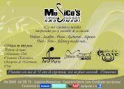 Músicos para eventos sociales, violines , grupo de cámara, soprano, pianista