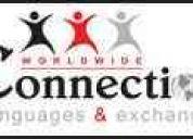 Domina ingles y cualquier idioma con tutores nativos, certificaciones internacionales