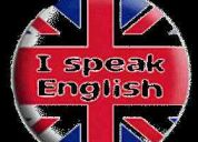 Cursos de conversaciÓn - ingles al 100%  britanico-americano  con oxbridge