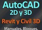 Tutorial autocad + revit + civil 3d + bloques + planos + símbol