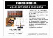Estudio jurÍdico miguel herrera & asociados