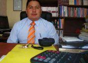 Servicios legales de abogados privados....