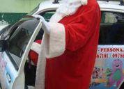 Papa noel y su show navideÑo