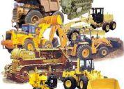 Alquilo maquinarias pesadas en santo domingo