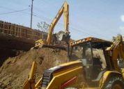 Excavaciones, desbanques, movimientos de tierra , alquiler de maquinaria