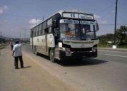 Arriendo de puesto de trabajo en cooperativa de transporte público urbano