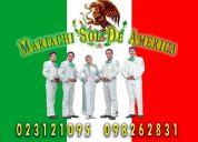 Mariachis en quito. mariachi sol de américa 3121095 / 098262831