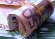 Financiera dinero oferta de servicio de préstamo