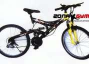 Venta de bicicletas nuevas, articulos deportivos