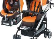 Coche + carseat + base peg perego