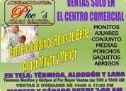 Al mayoreo ropa de bebe en el centro comercial de mayoristas y negocios andinos