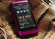 Nokia n8 rosado y mas colores 12mp camara con flash xenon - 3.5g video hd wifi 081250716