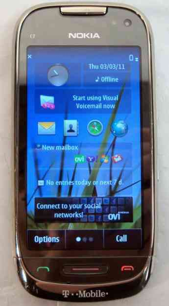 nokia c7 celular gps wifi bluetooth c225mara 8mp video mp3