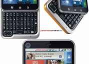 Motorola flipout - se original - telefono inteligente android - rapido - wifi - gps - maps