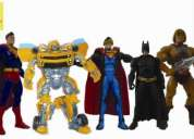 Darpa collectors- figuras de accion-dc universe, he-man, marvel, thundercats, star wars
