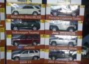Vendo 3 colecciones 1 de  carros 4x4; 1 de historia del automovil y 1  de autos clasicos