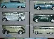 Vendo coleccion de 12 autos clasicos con su caja, album de cromos y revistas de historia
