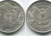 One dollar de 1886 en perfecto estado