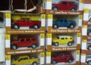 Vendo coleccion completa de 15 carros 4x4 a escala con album y revistas
