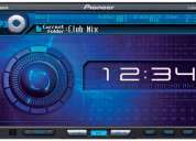 Pioner avh p 6000 dvd 6 disc, para autos, mp3, entrada ipod y camara trasera, touch, etc.