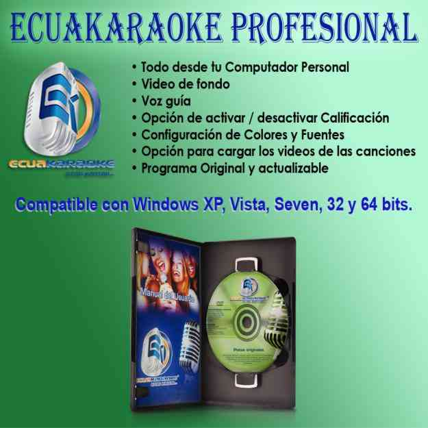 Ecuakaraoke 2012 4650 Canciones