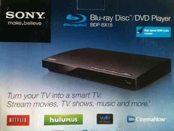 Blu ray Sony. De paquete
