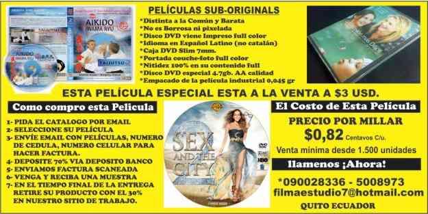 peliculas de estrenos full DVD  sub original