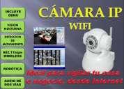 Camara ip robotica/ wifi/ visÓn nocturna