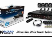 Kit de dvr digital mas 8 camaras de seguridad kguard 097504119