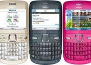 Nokia c3 nuevo de paquete  185 usd