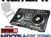 Controlador numark mixtrack pro dj