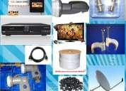 Antenas satelitales ecuador. kit satelital - graba - usb - hdmi - lanrj45. desde $ 138tele