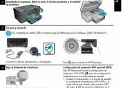 Impresora wi-fi b-210 photosmart plus con sistema continuo manfusaqui technology