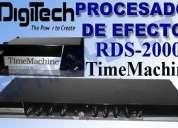 Delay sampler  procesador de efectos digitech rds-2000 $ 260