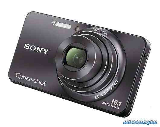 Sony Cyber-Shot DSC W570 16.1 MP Carl Zeiss 5x Zoom Optico Video HD Panorama 084622630